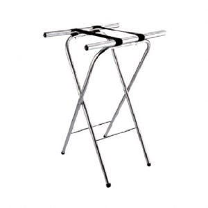 Stainless Steel Service Tray Stand