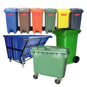 7. Garbage Bins