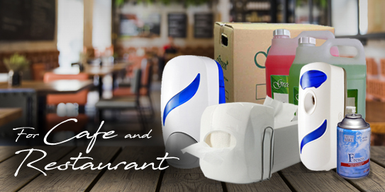 Cleaning and Hygiene Supplies for your Cafe and Restaurant